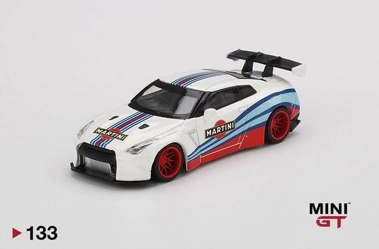 Nissan GTR Martini - 1:64 - Mini GT