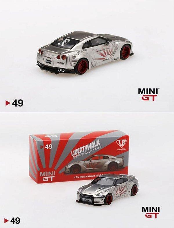 Nissan GTR Liberty walk - 1:64 - Mini GT