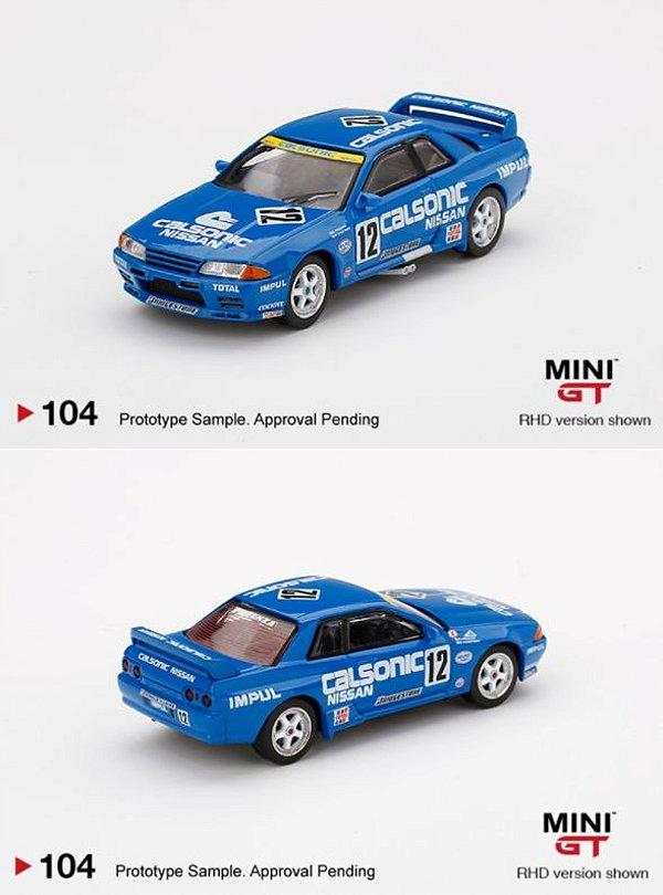 Nissan Skyline R32 Calsonic - 1:64 - Mini GT