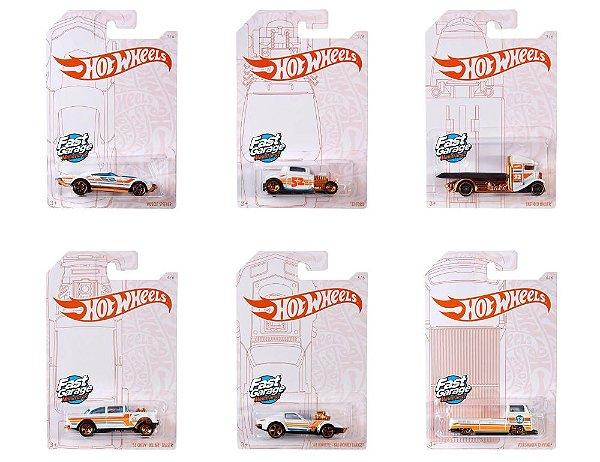 Set 52 anos 6 carros - 1/64 - Hotwheels