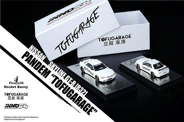 Nissan Skyline GTR (R-32) TOFUGARAGE  - 1:64 - INNO64