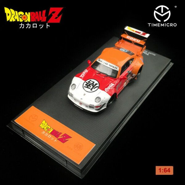 Porsche RWB 930 Dragon Ball Goku - 1:64 - TIMEMICRO