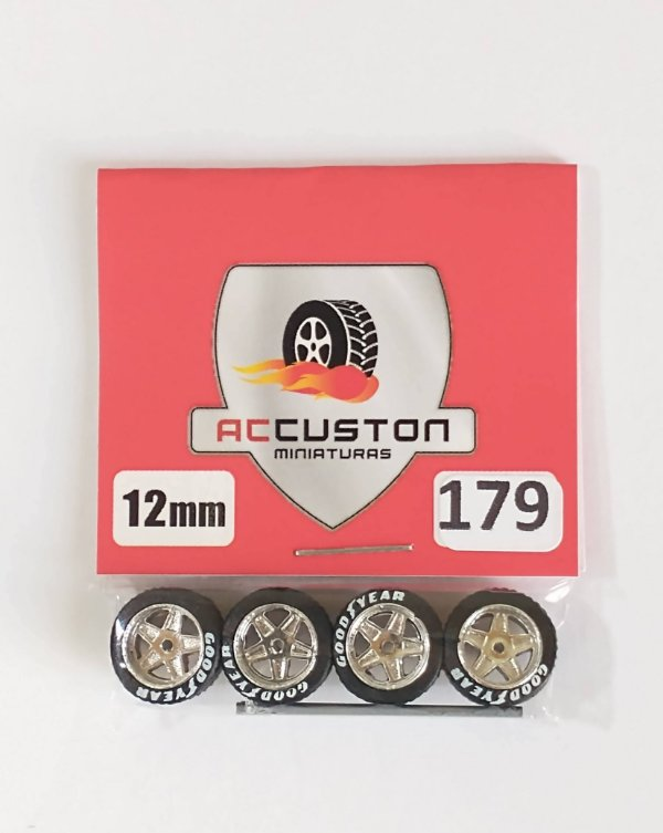 Roda 179/12mm - ACCuston