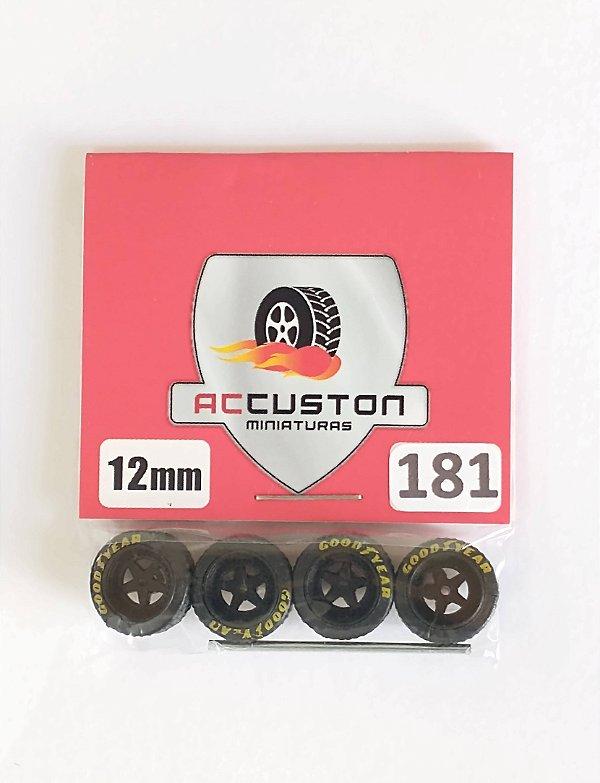 Roda 181/12mm - ACCuston