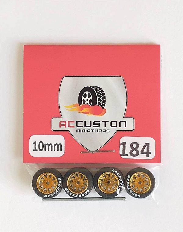 Roda 184/10mm - ACCuston