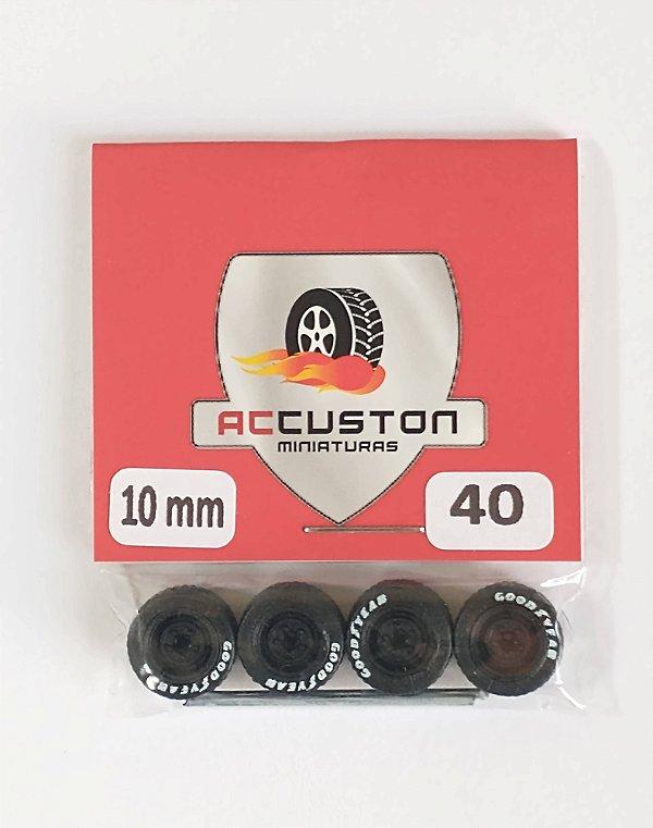 Roda 40/10mm - ACCuston