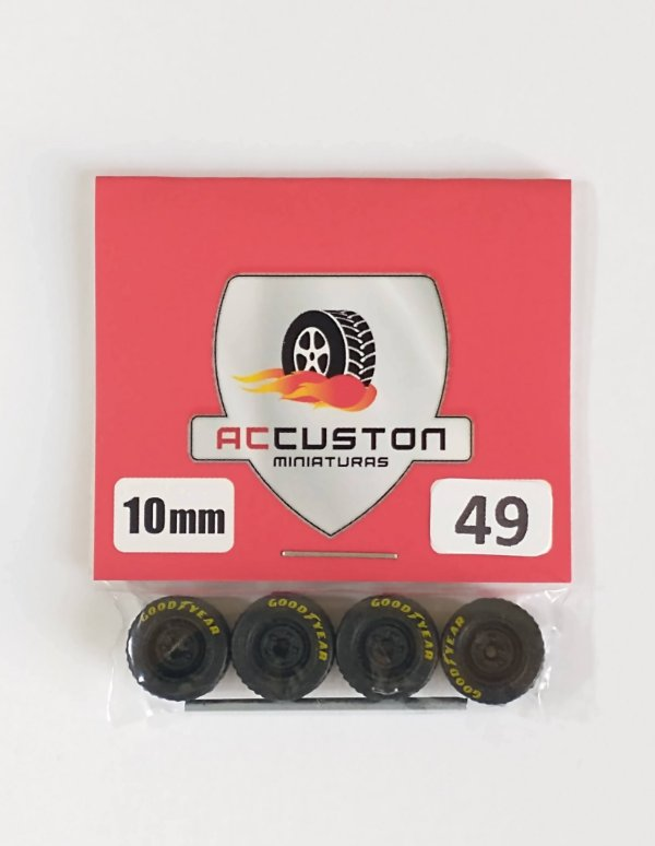 Roda 49/10mm - ACCuston