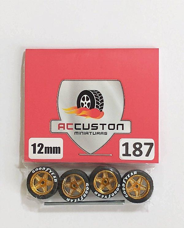 Roda 187/12mm - ACCuston