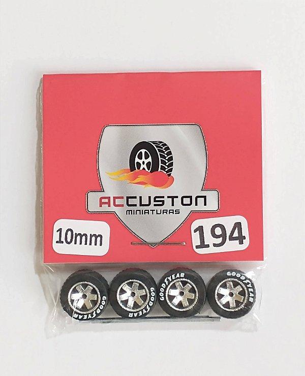Roda 194/10mm - ACCuston