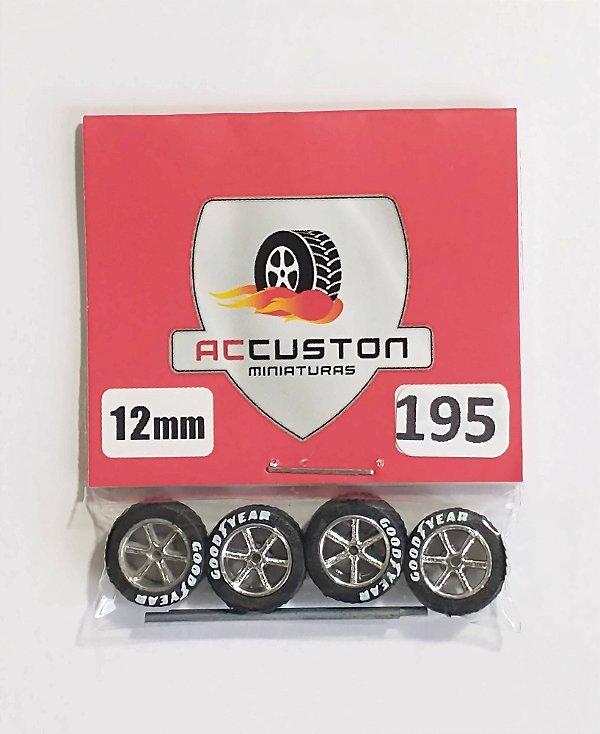 Roda 195/12mm - ACCuston
