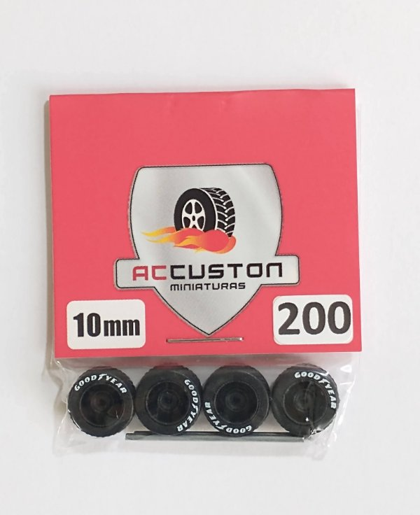 Roda 200/10mm - ACCuston