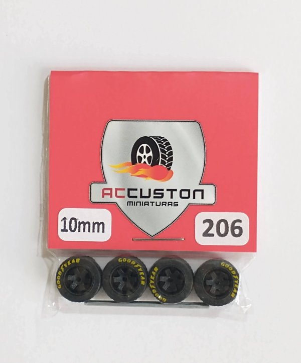 Roda 206/10mm - ACCuston