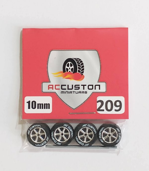 Roda 209/10mm - ACCuston