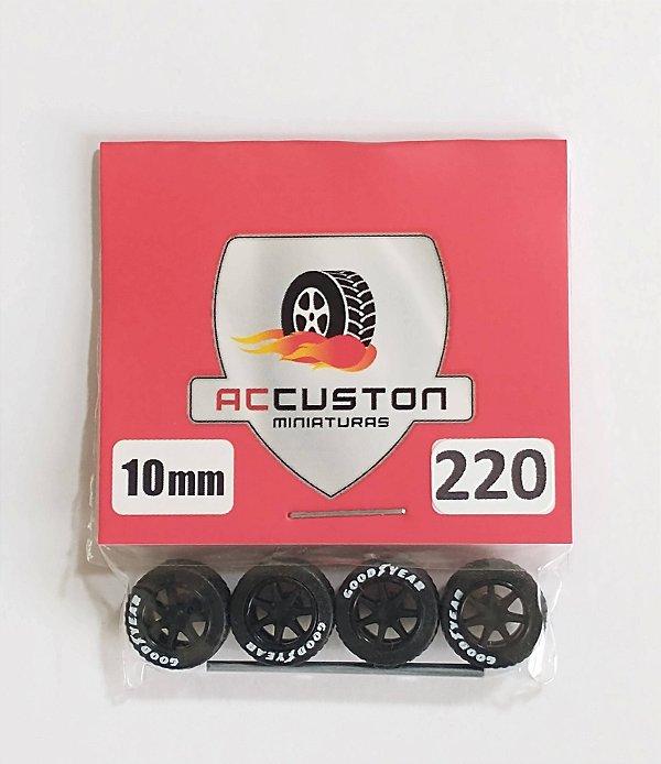 Roda 220/10mm - ACCuston