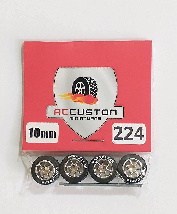 Roda 224/10mm - ACCuston