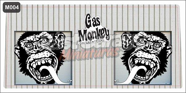 Adesivo Case Gas Monkey MOD-4