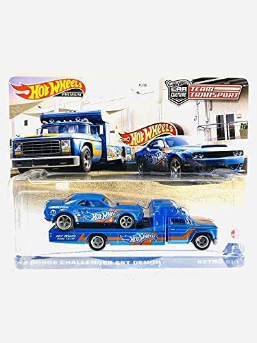 Team Transport Dodge Challenger Mopar + caminhão 2021