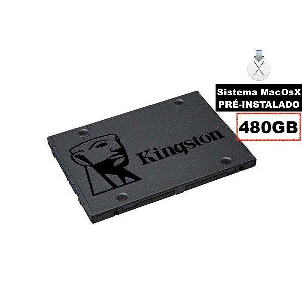 Hd Ssd Macbook iMac Mac Mini Kingston 480 Gb Sistema Os ®