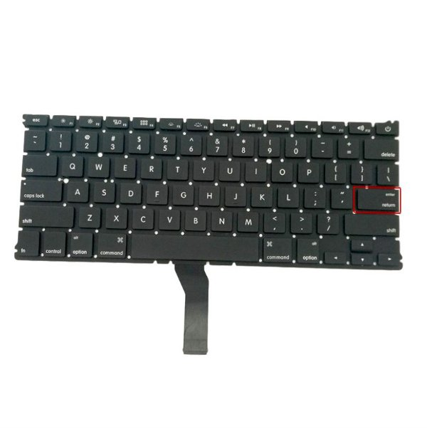 Teclado Macbook Air 13 A1466 2011 2012 2013 2014 2015 2017 Layout US
