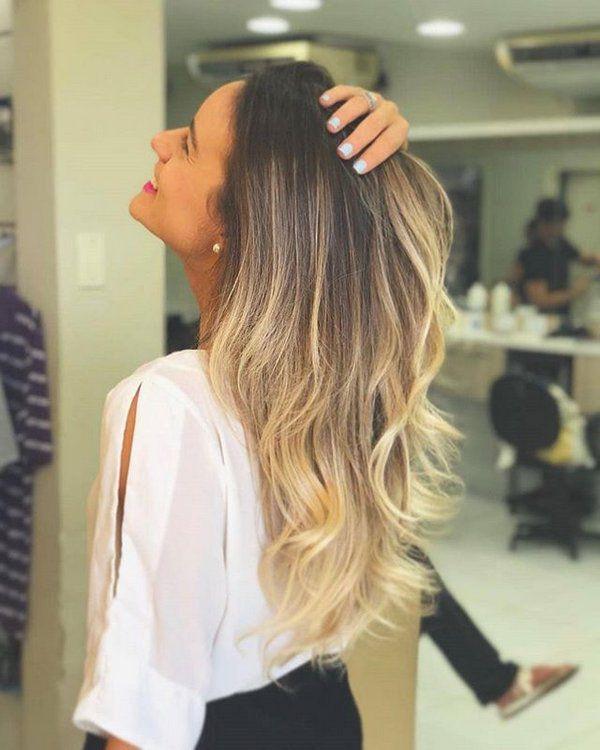 Ombre Hair + inteligente Beleza Fashion
