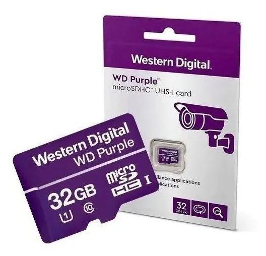 Cartão De Memória Western Digital - Intelbras Sd 32 Gb Classe 10 - Exclusivo para CFTV