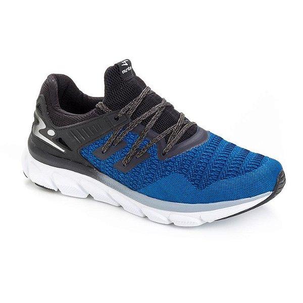 Tênis Adrun Walk Masc Azul/preto