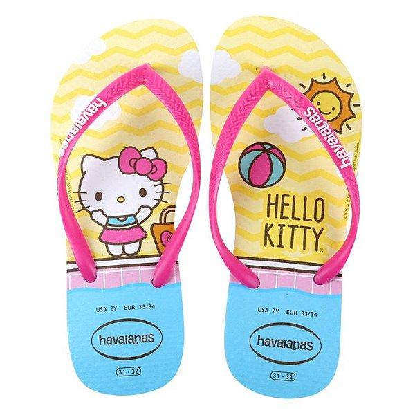 Chinelo Havaianas Hello Kitty
