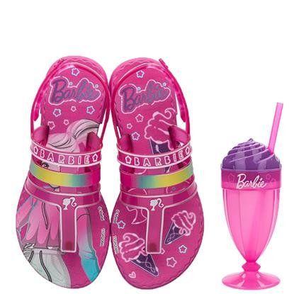 Sandalia Barbie Milkshake Rosa/rosa