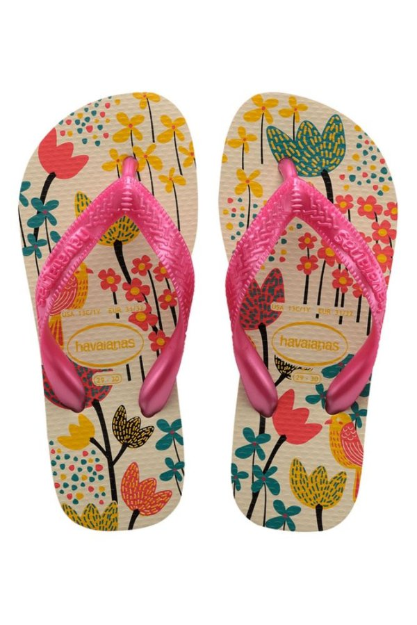 Chinelo Havaianas Kids Flores Gd
