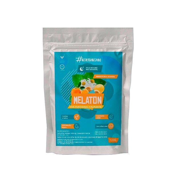 Chá Funcional Calmante Melaton Anti-insônia Natural 120g