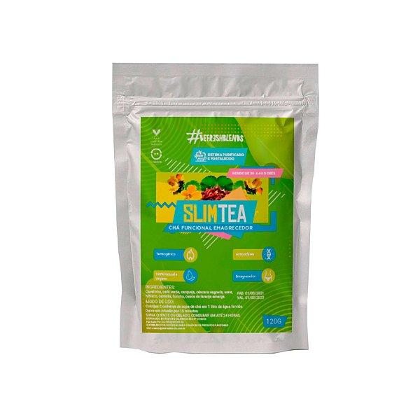 Chá Funcional Emagrecedor Slim Tea Antioxidante Natural 120g