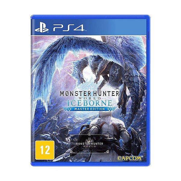 Jogo Monster Hunter: Iceborne - PS4 (USADO)