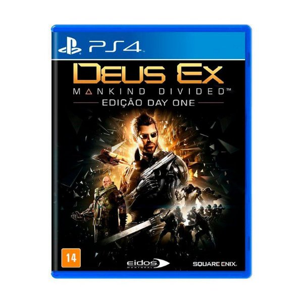 Jogo Deus Ex - PS4 Novo