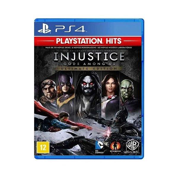Jogo Injustice: Gods Among Us (Ultimate Edition) - PS4 (USADO)