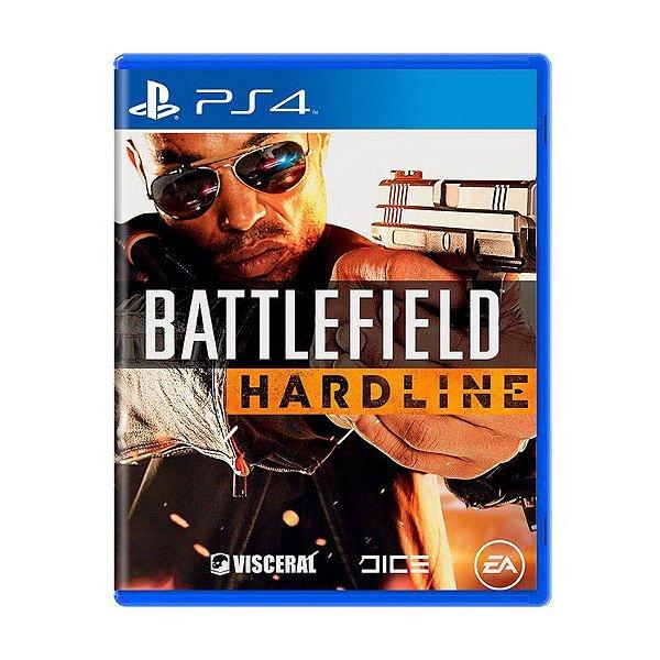 Jogo Battlefield Hardline - PS4 (USADO)