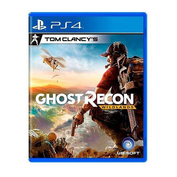 Jogo Tom Clancys Ghost Recon Wildlands - PS4 (USADO)