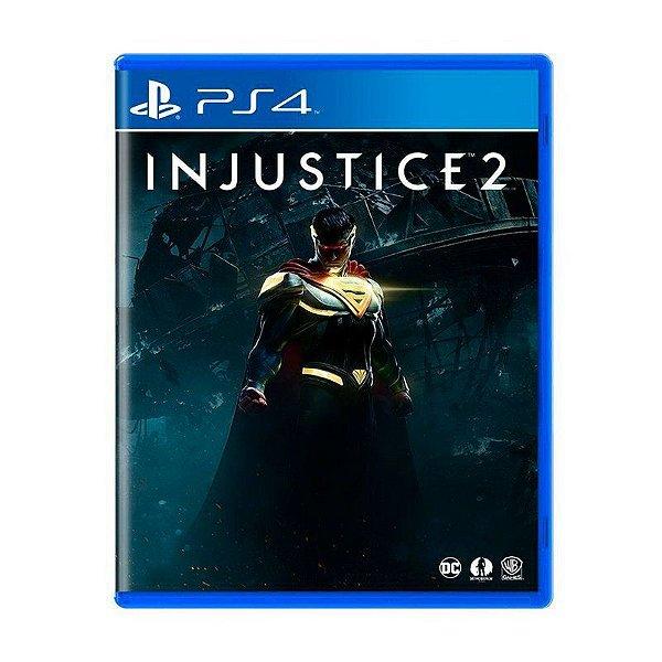 Jogo Injustice 2 - PS4 (USADO)
