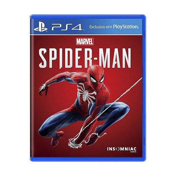 Jogo Spider-Man - PS4 (USADO)