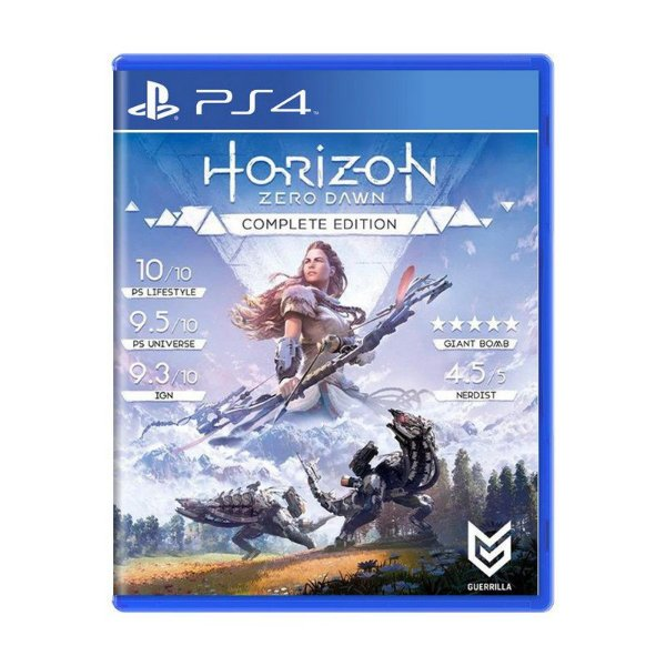 Jogo Horizon Zero Dawn Complete Edition - PS4 (USADO)