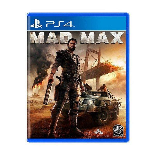 Jogo Mad Max - PS4 (USADO)
