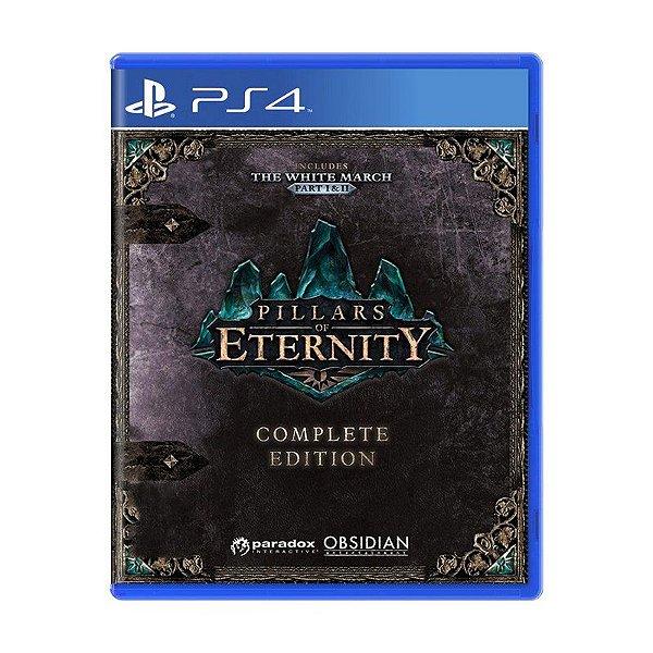 Jogo Pillars of Eternity Complete Edition - PS4 (USADO)
