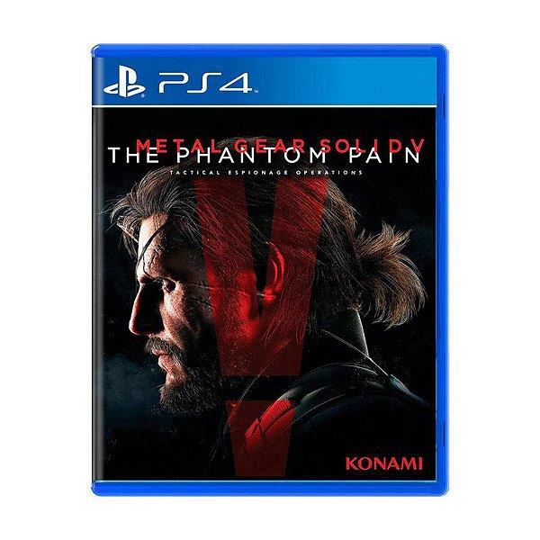 Jogo Metal Gear Solid V: The Phantom Pain - PS4 (USADO)