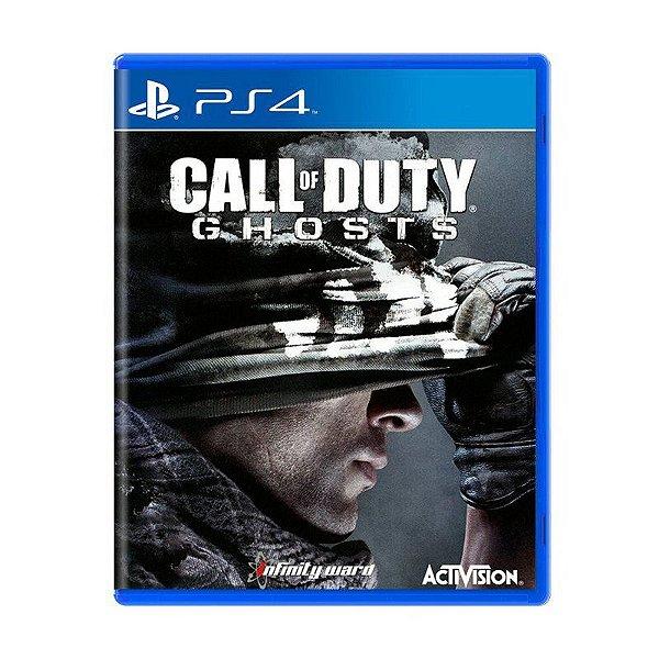 Jogo Call of Duty: Ghosts - PS4 (USADO)