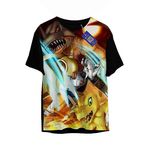 Camiseta Digimon - Agumon evolution