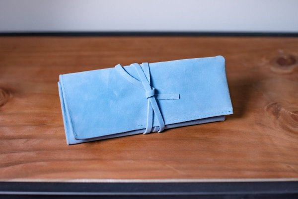 Porta Pincel Azul Celeste