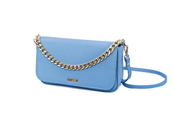 Bolsa Tiracolo Azul Bebê Raquel