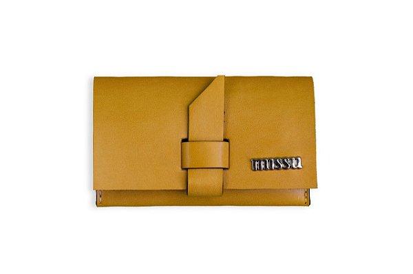 Mini carteira Amarela