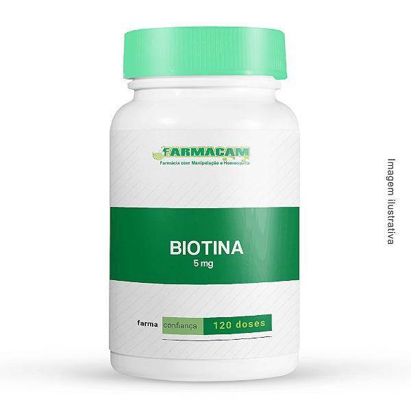 Biotina 5 mg
