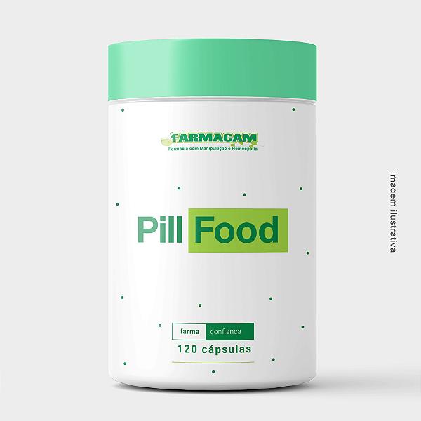 Composto Fortalecimento Cabelos e Unhas - Pill Food