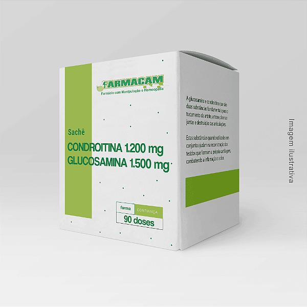 Glucosamina 1500 Mg + Condroitina 1200 Mg Em Sachê
